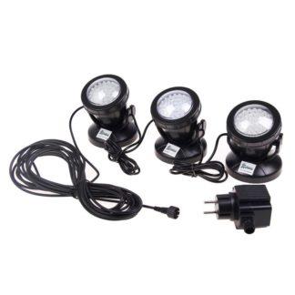 Подсветка для садового пруда (3 светодиодных светильника) SDL-103A