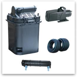 Напорный фильтр Pondtech P985 - комлект оборудования для пруда (30 м3)