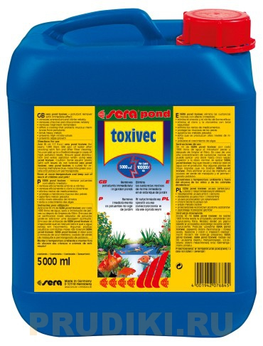 Sera Pond Toxivec 2.5 л