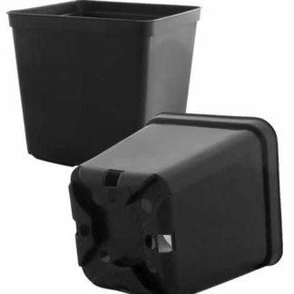 Горшок пластиковый (15х15 см)