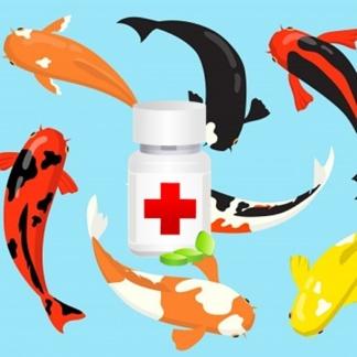 препарат для лечения рыб в пруду