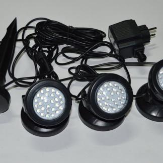 Подсветка для садового пруда (3 светильника c автовключением) SDL-103