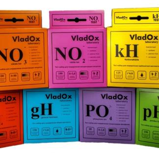 VladOx профессиональный набор из 7-ми тестов для воды