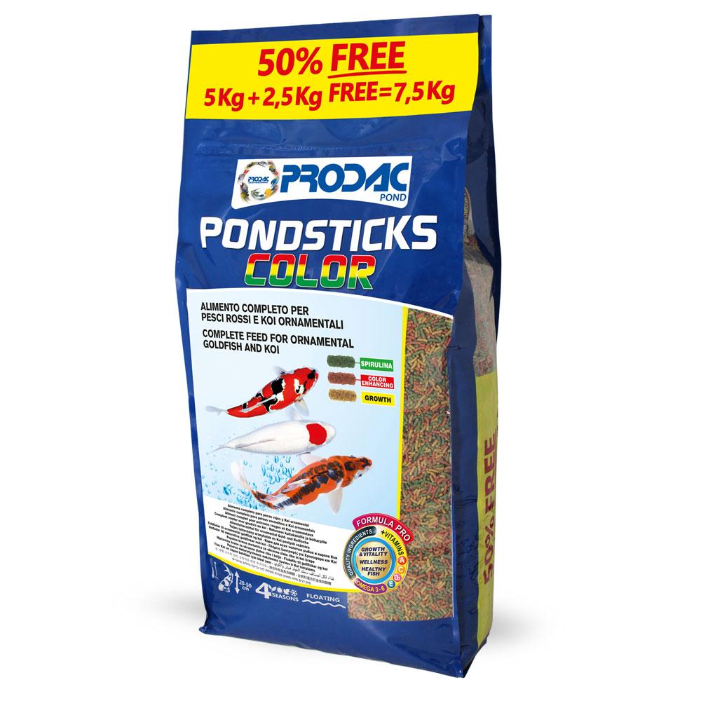 PRODAC Pond Sticks color 5 кг