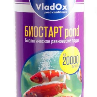 ⚡ VladOx Biostart Pond Запуск пруда - 1л на 20000л