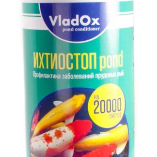 ⚡ VladOx ИХТИОСТОП Pond профилактика заболеваний рыб - 1 л на 20 м³
