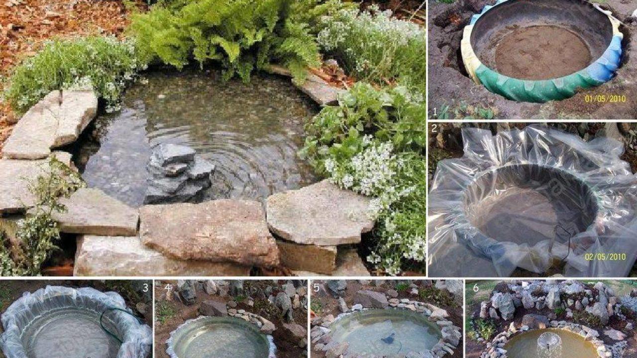 Как создать мини водоём