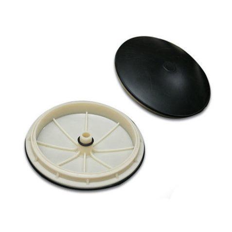 Мелкопузырьковый дисковый мембранный диффузор ДН300 из EPDM для аэрации прудов очистных сооружений сточных вод