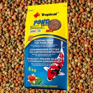 Tropical pond pellet mix - 50 л